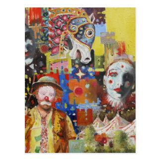 """""""Postal de las memorias del circo"""" Postal"""