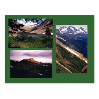 Postal de las montañas de San Juan