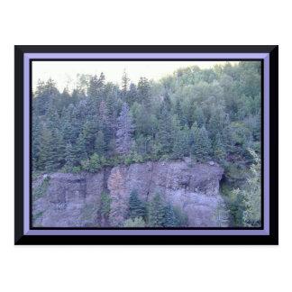 Postal de las montañas rocosas de Colorado