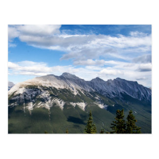 Postal de las montañas rocosas
