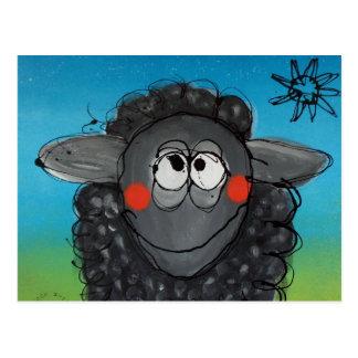 postal de las ovejas negras