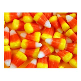 Postal de las pastillas de caramelo de Halloween