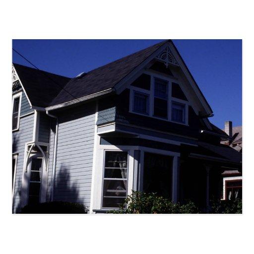 Postal de las propiedades inmobiliarias