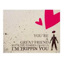 Postal de las tarjetas del día de San Valentín de