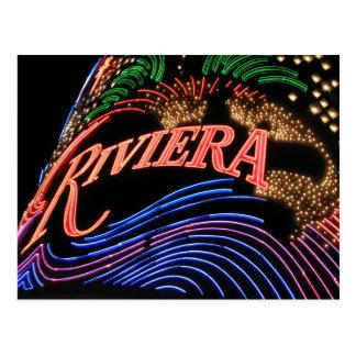 Postal de Las Vegas Riviera