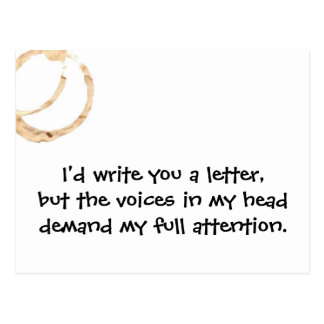 Postal de las voces