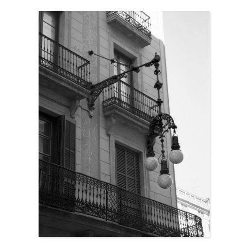 Postal de L'Eixample (Barcelona, España)
