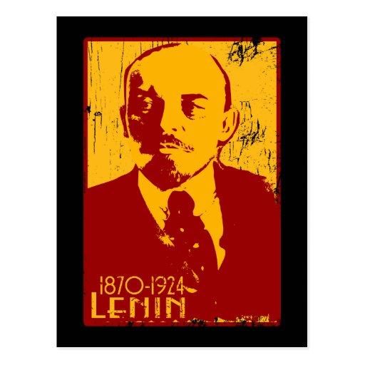 Postal de Lenin