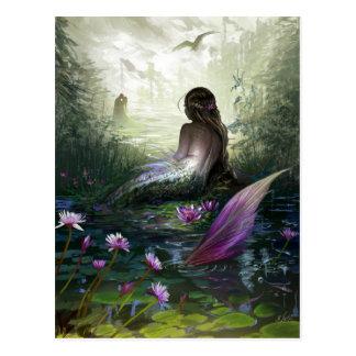 Postal de little mermaid