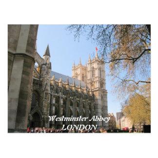 Postal de Londres Reino Unido de la abadía de
