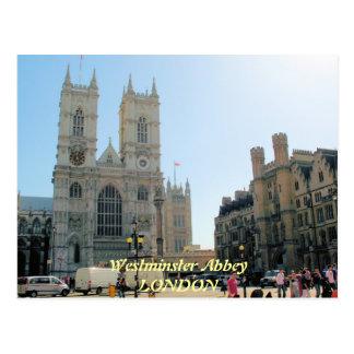 Postal de Londres Reino Unido de la abadía de West