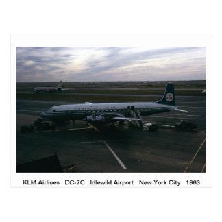 Postal de los aeroplanos
