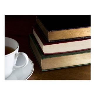 Postal de los aficionados a los libros