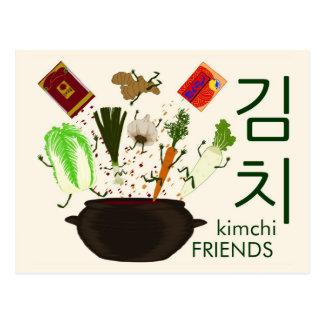 Postal de los amigos de Kimchi