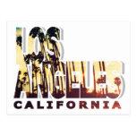 Postal de Los Ángeles, California