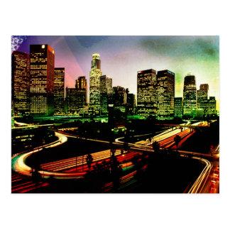 Postal de Los Ángeles California