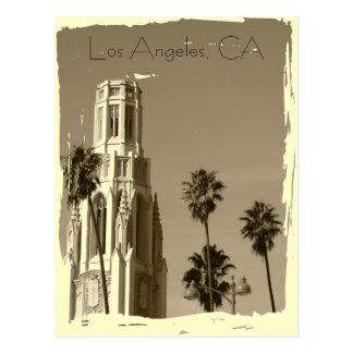 ¡Postal de Los Ángeles del estilo del vintage!