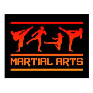 ¡Postal de los artes marciales - personalizar!
