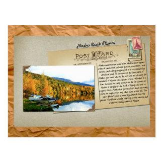 Postal de los aviones de Alaska Bush