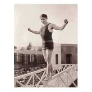 Postal de los bañadores del vintage - 1780087-4