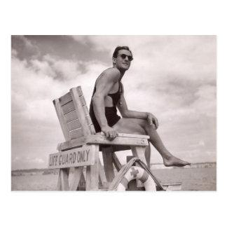 Postal de los bañadores del vintage - 1780088.jpg