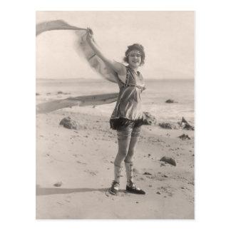 Postal de los bañadores del vintage - 1780161-4