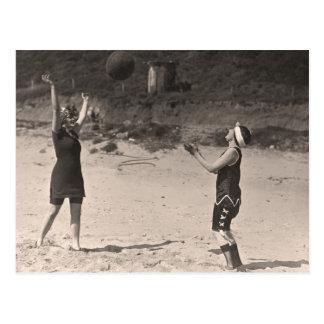 Postal de los bañadores del vintage - 1780169