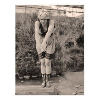 Postal de los bañadores del vintage - 1780185-4