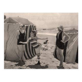 Postal de los bañadores del vintage - 1780212-4