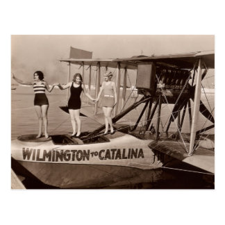 Postal de los bañadores del vintage - 1780225-4