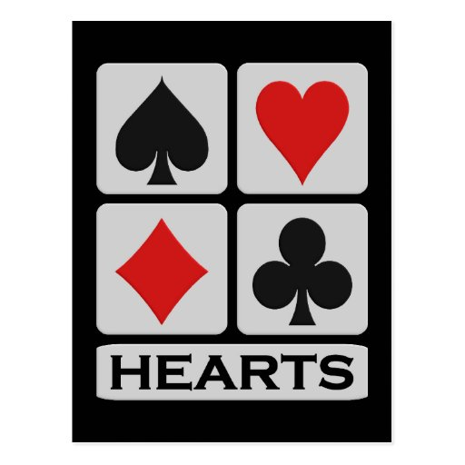 Postal de los corazones