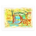 Postal de los días de verano