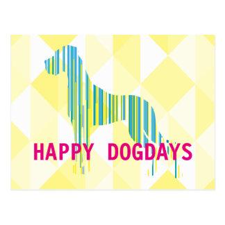 Postal de los Dogdays de great dane