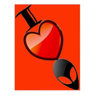 Postal de los extranjeros del *Heart* I