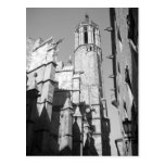 Postal de los Gargoyles de Catedral del La