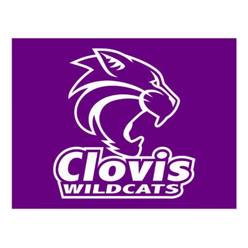 Postal de los gatos monteses de Clovis