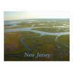 Postal de los humedales de New Jersey