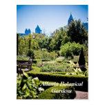 Postal de los jardines botánicos de Atlanta