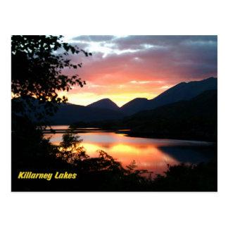 Postal de los lagos killarney