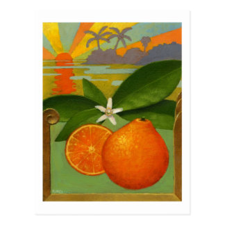 Postal de los naranjas