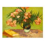 Postal de los Oleanders de Van Gogh