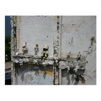 Postal de los osos de peluche de Puerto Rico
