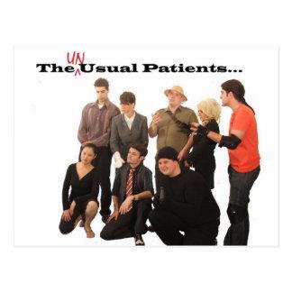 Postal de los pacientes