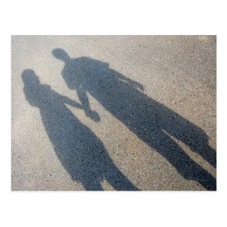 Postal de los pares de la sombra