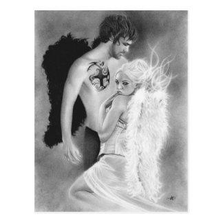 Postal de los pares del ángel