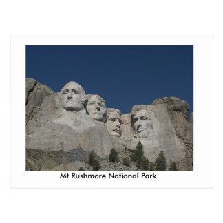 Postal de los parques nacionales