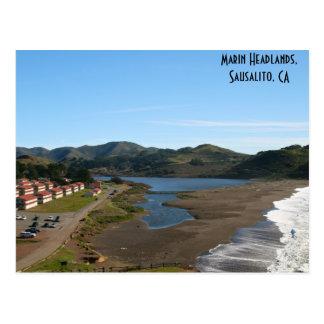 Postal de los promontorios de Marin