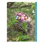 Postal de los saludos de Pascua