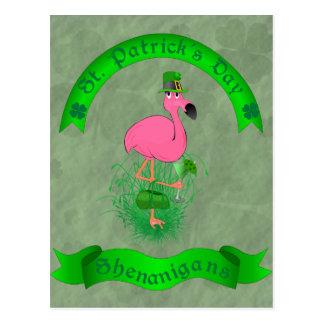 Postal de los Shenanigans del día de St Patrick