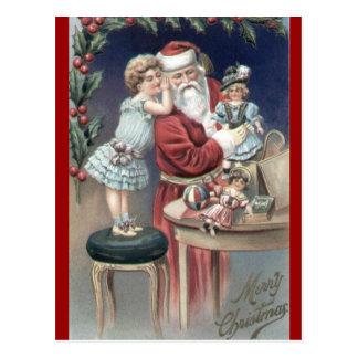Postal de los susurros del navidad